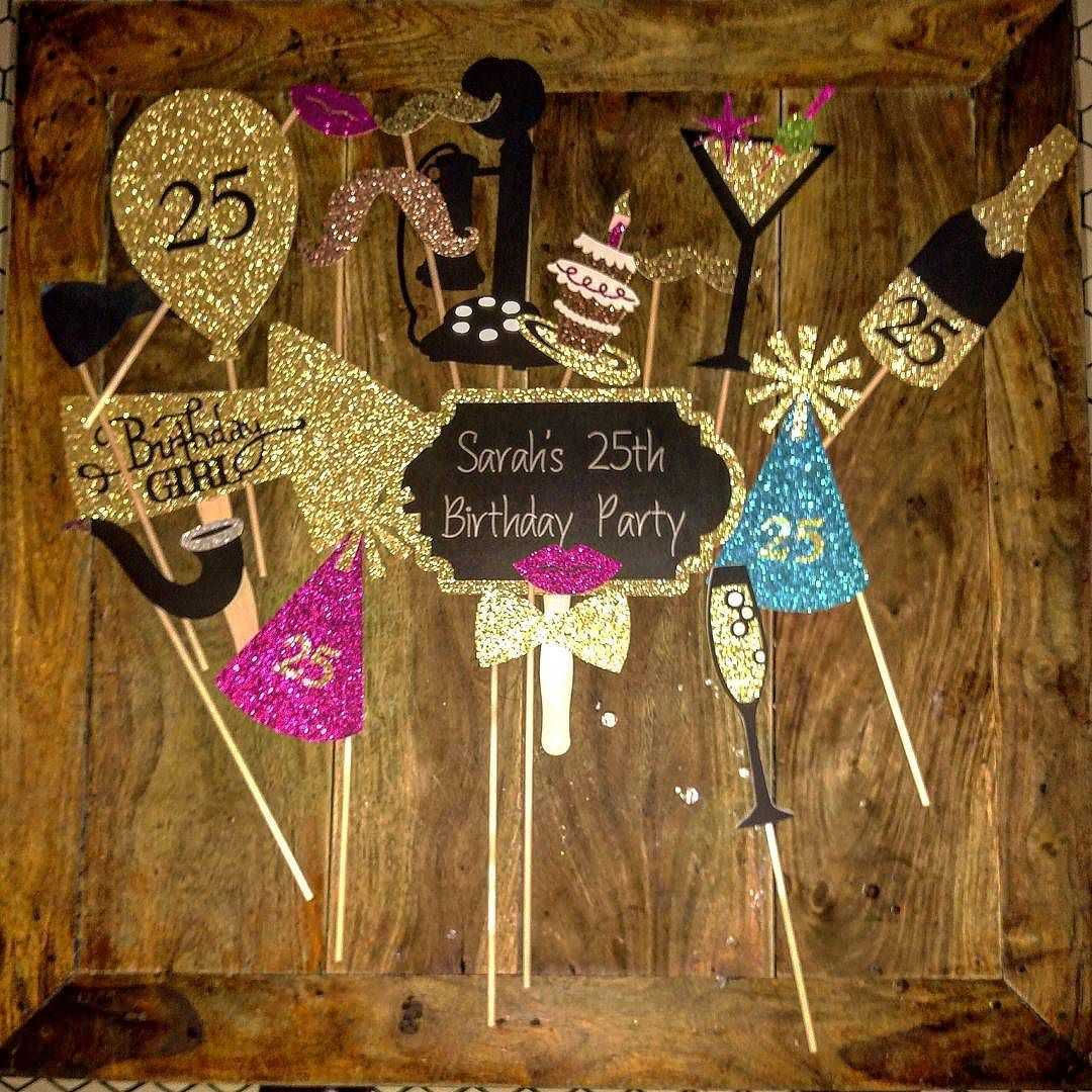 Great Props Birthday Party Pinterest 25th