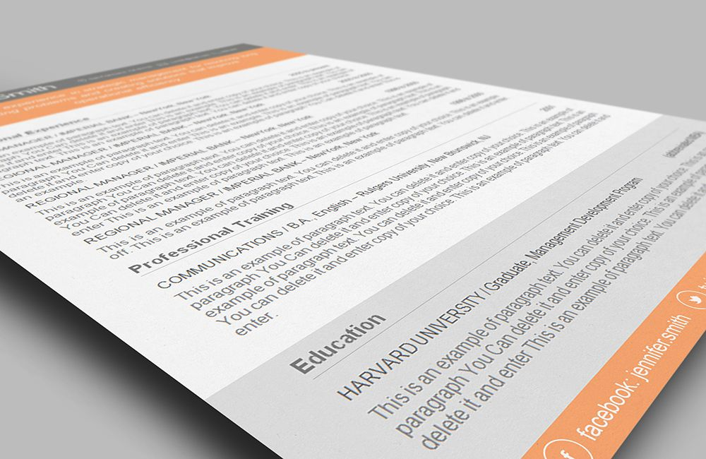 Premium line of Resume \ Cover Letter Templates MS Word and iWork - mac pages resume templates