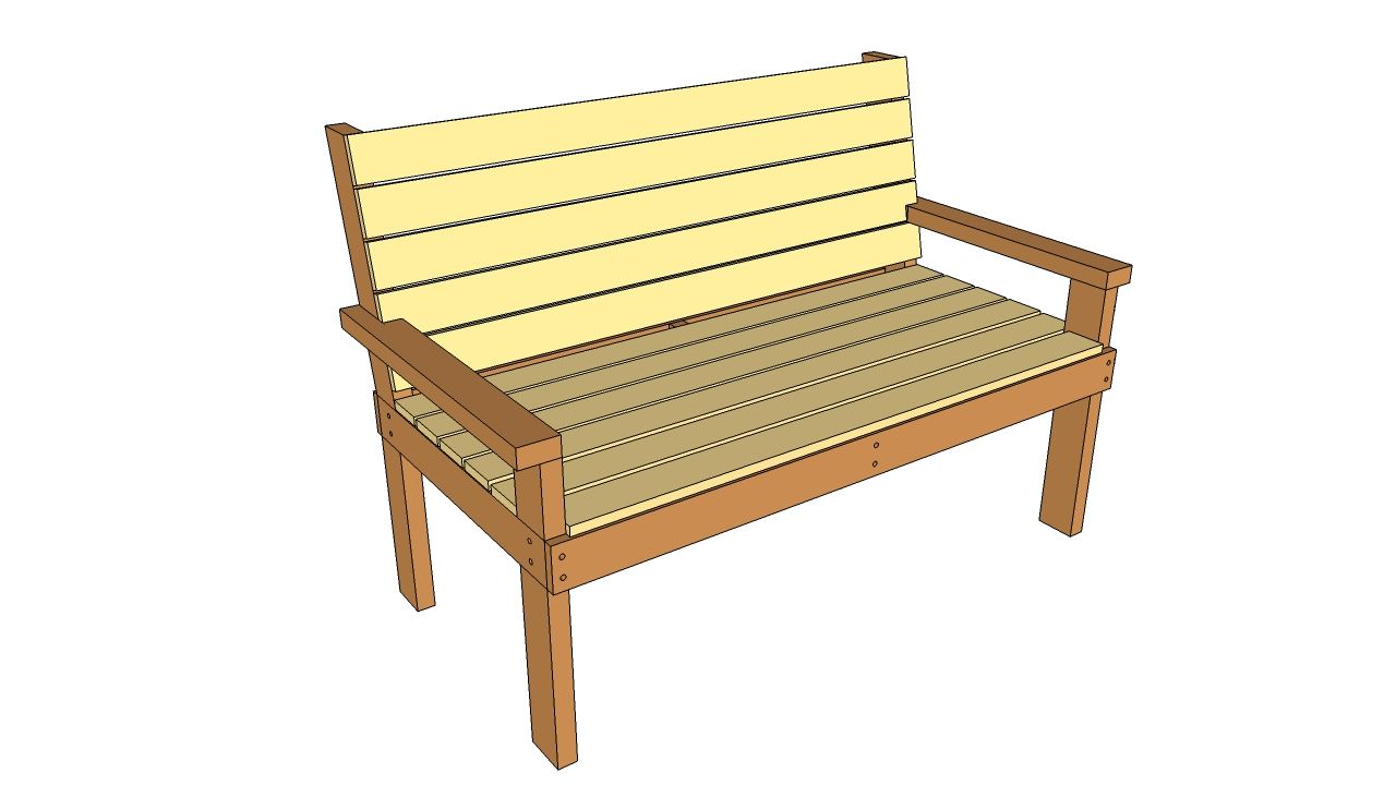 Wood projects park bench plans park bench plans free outdoor plans diy shed