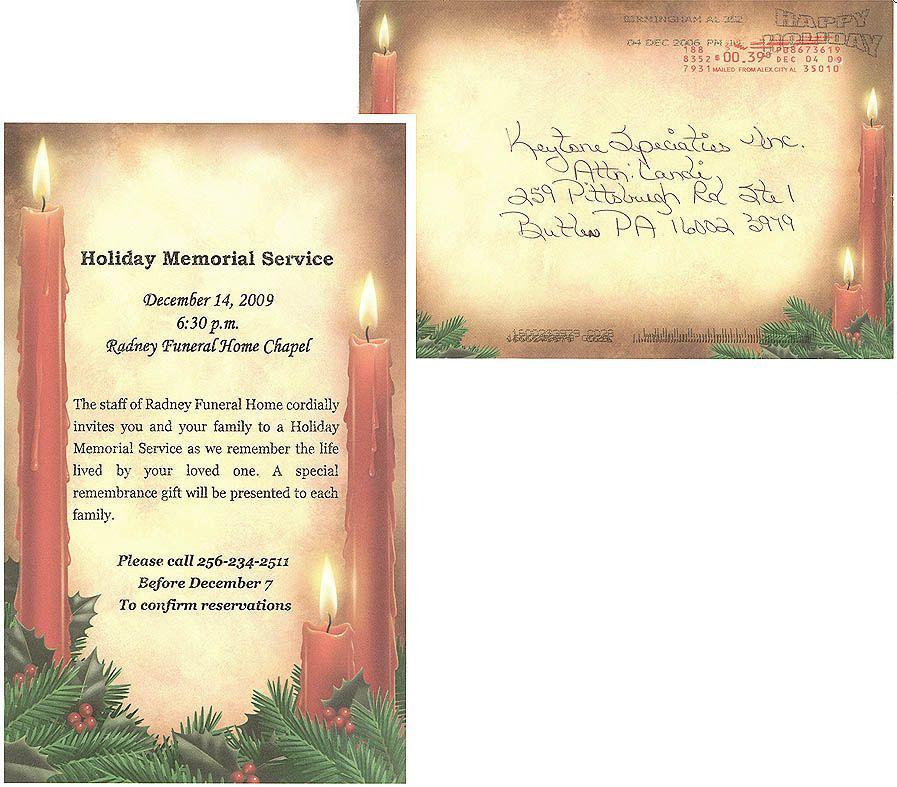 memorial service programs sample Sample Memorial Service - funeral ceremony invitation