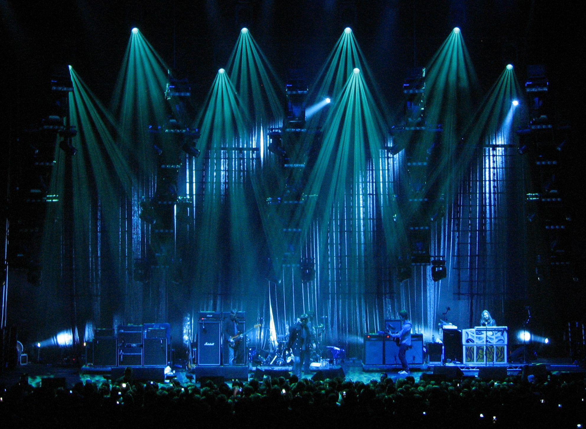 Stage Lighting Design For Bands