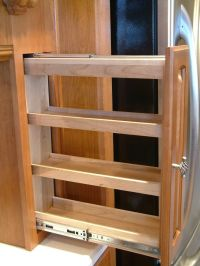 sliding spice rack plans | Fascinating Kitchen Cabinet ...