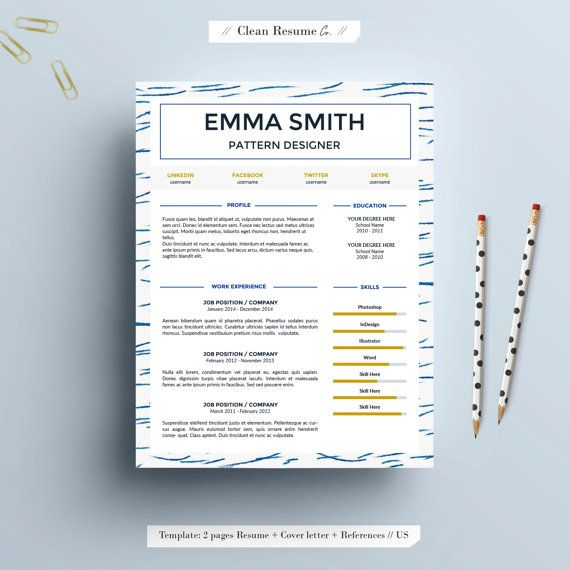 Clean Resume Co provides editable resume templates that will help - clean resume templates