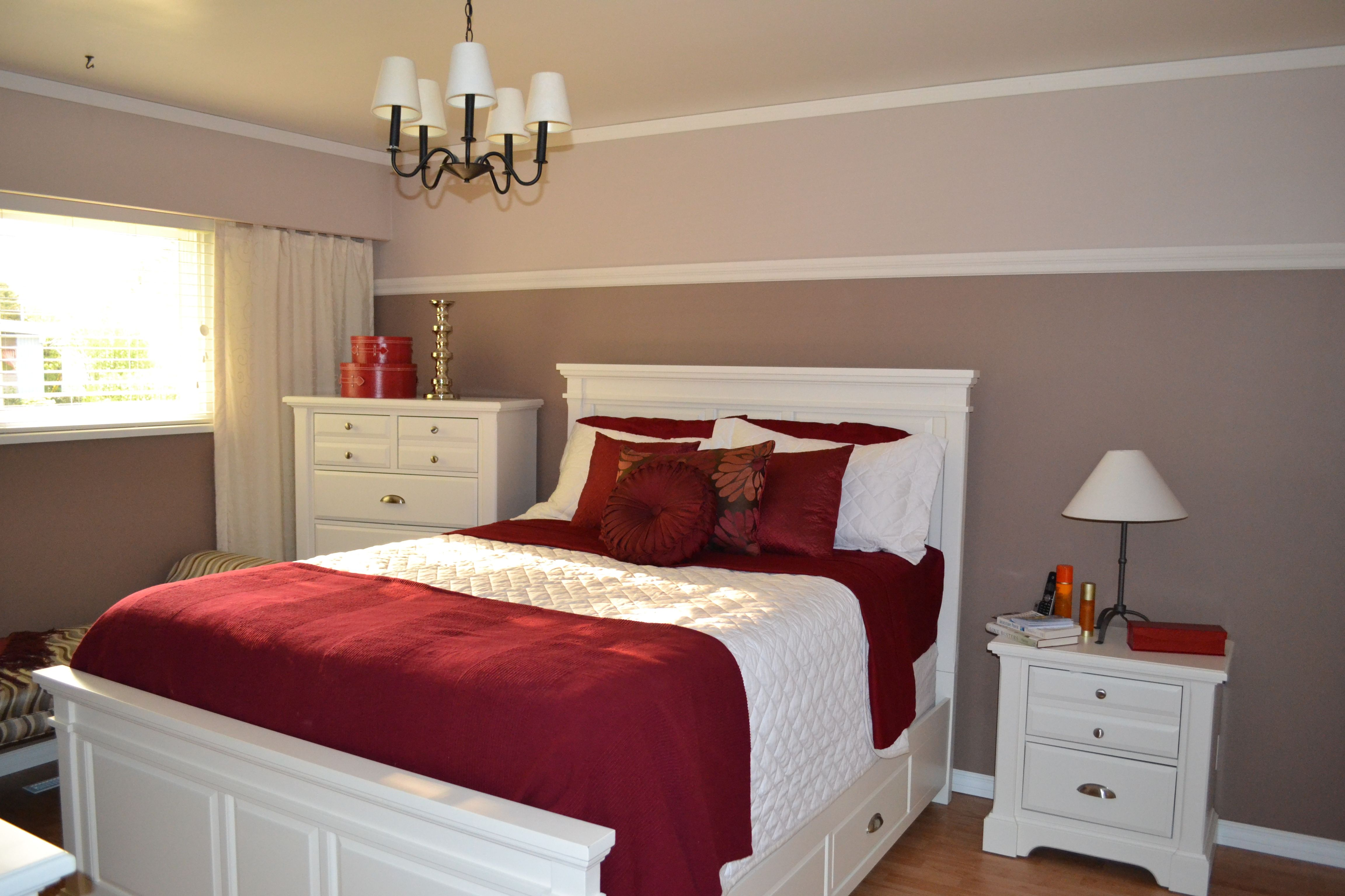 Red Accents Red Accent Bedroom Ideas For New House Pinterest Red