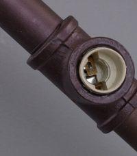 Industrial Rustic Steampunk METAL PIPE Lamp Vintage Loft ...