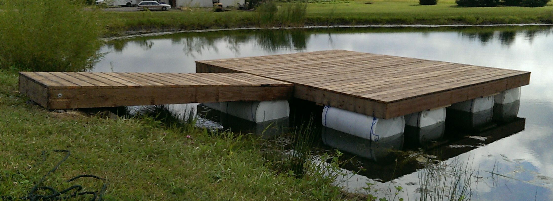 Dock Furniture Ideas 40 00 Floating Dock Completed Questions And Observations