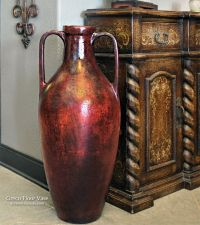 Tall Greco Floor Vase at Accents of Salado. | Tuscan Decor ...
