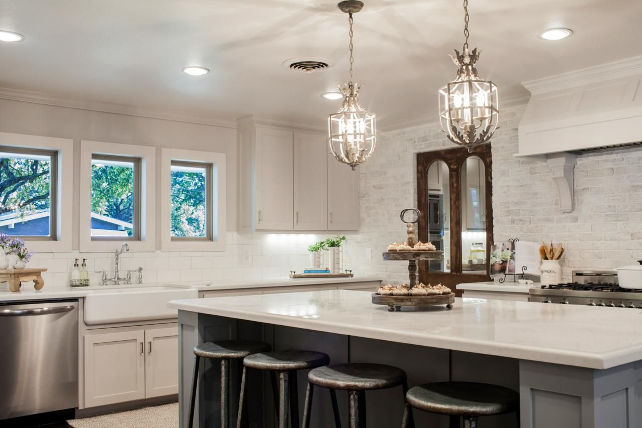 French Country Fixer Upper Kitchens Fixer Upper Midcentury Quotasian Ranch Quot Goes French Country