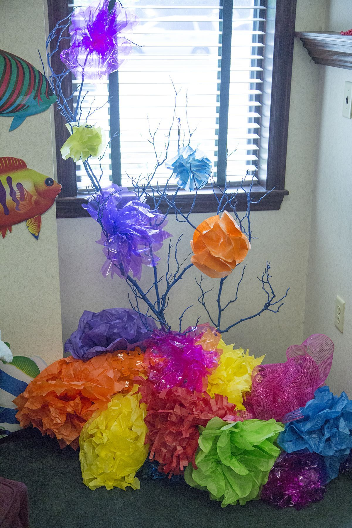 Ocean Inspired Decorating Under The Sea Decorating Ideas For Vbs Google Search