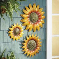 sunflower wall decor  Roselawnlutheran