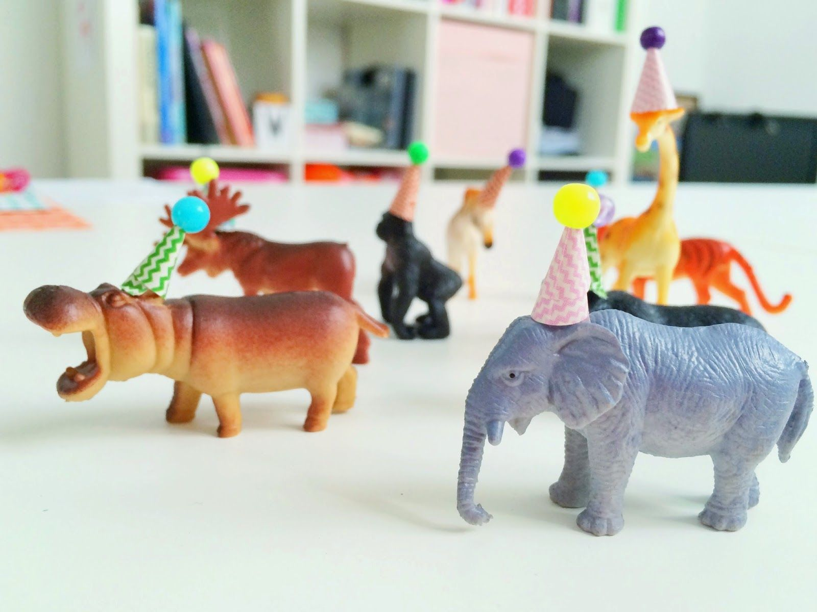 Dieren Kinderfeestje Thuis Diy Party Animals Inspired By Oh Happy Day 만들기 Pinterest