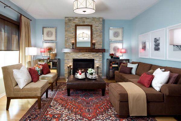 Beautiful Living Room Ideas Brown Sofa Hd Wall Wallpaper  Living - living room ideas brown sofa