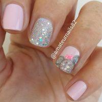 minnie mouse nail design, unas decoradas con minnie Mouse ...