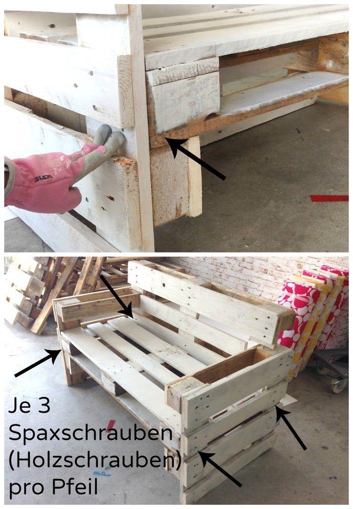 Möbel aus Paletten bauen - Anleitung DIY, Pallets and Furniture - holz mobel aus europaletten bauen