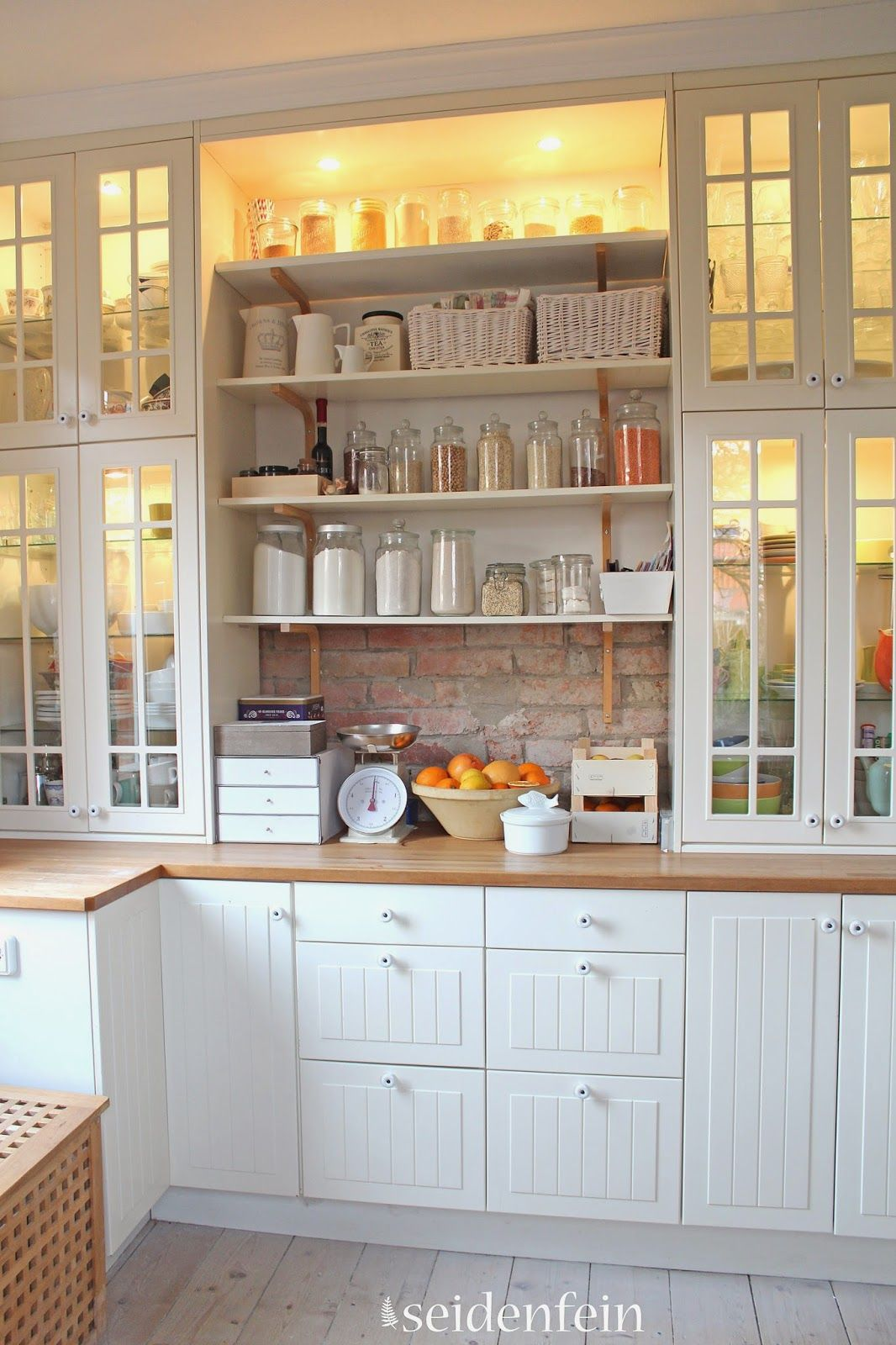 Country Küche Ikea Such A Charming Kitchen Seidenfeins Dekoblog Küchen