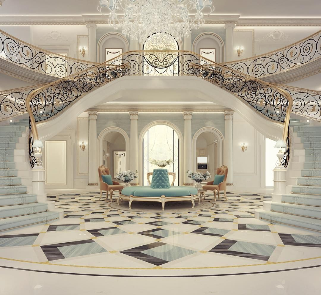 Mansion Interior Pictures Luxury Mansion Interior Grand Double Staircased Foyer