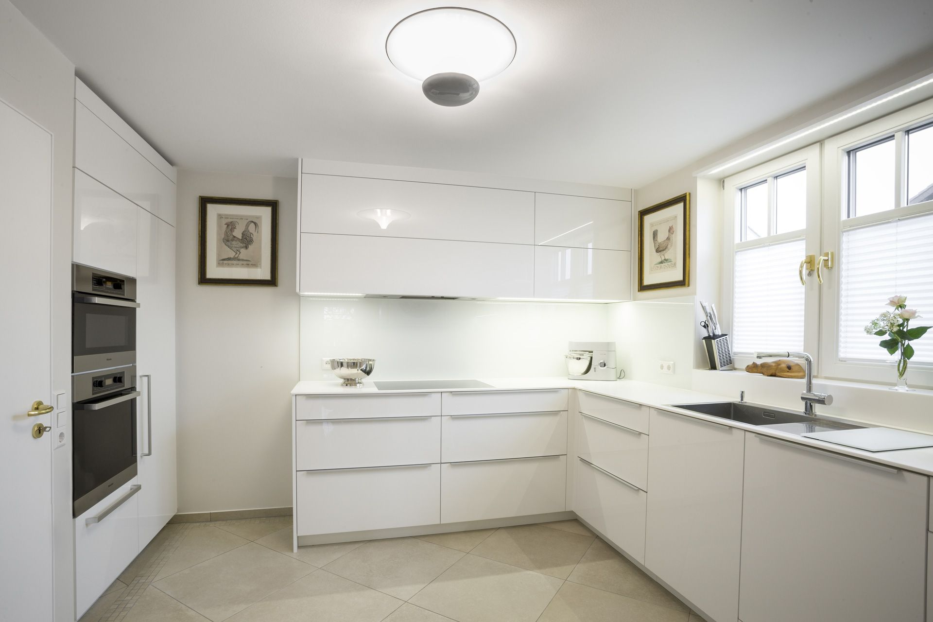 Ikea Hochglanz Küche Weiss