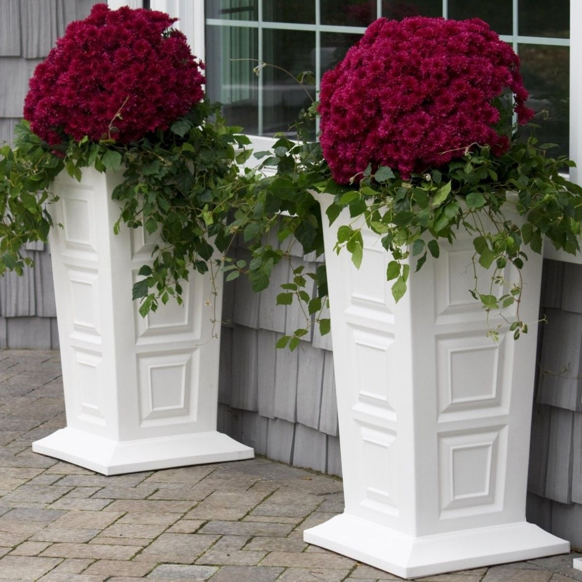 How To Make Beautiful Flower Pots At Home Decor Make Your Garden More Beautiful With Tall Planters