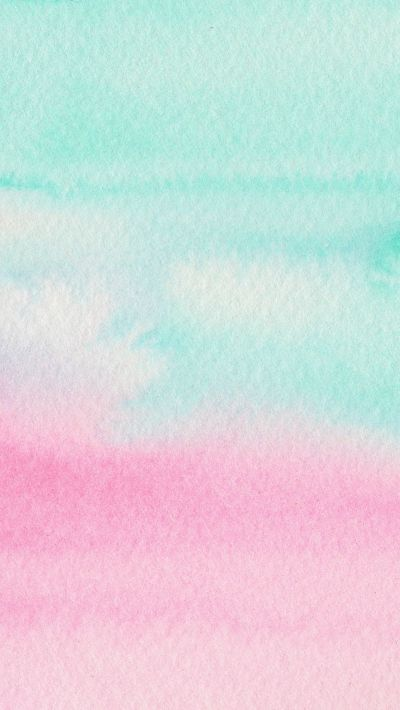 Mint Aqua pink watercolour ombre texture iphone wallpaper phone background lock… | Patterns ...