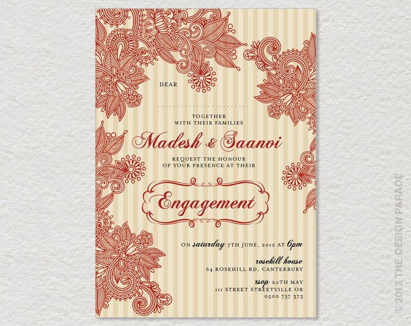 seminar invitation card sample
