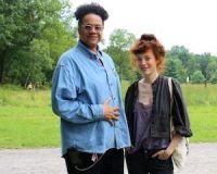 Leo Holder and Melissa Auf der Maur at Clermont Historic ...