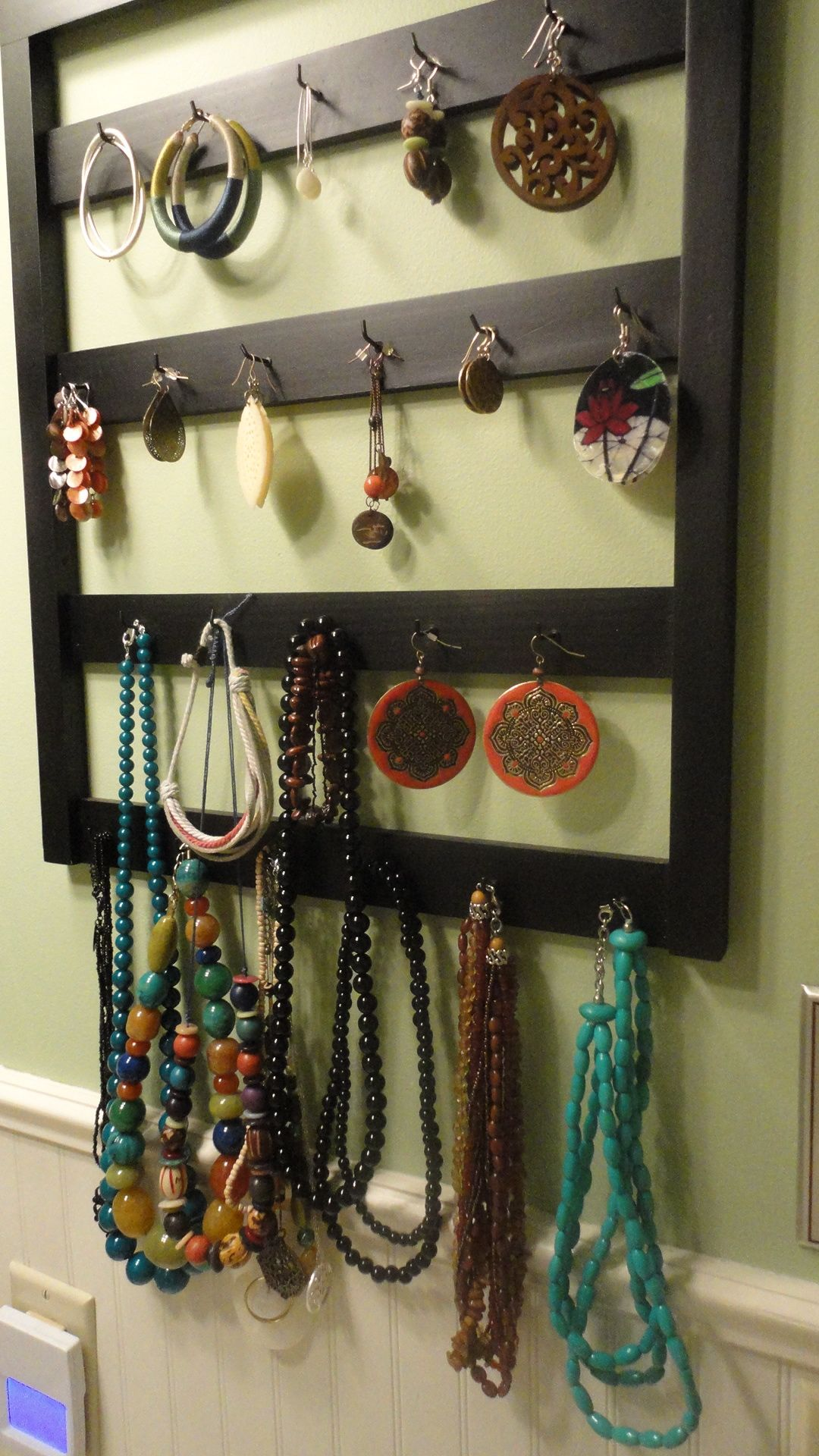 Keychain Holder Turned Jewelry Holder Display Personal
