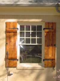 Cedar Shutters on Pinterest | Shutters, Exterior Shutters ...