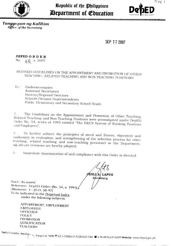 Cover letter for job promotion node2003 cvresumeasprovider the appointment and sample application letter for promotion deped cover letter for job promotion altavistaventures Choice Image