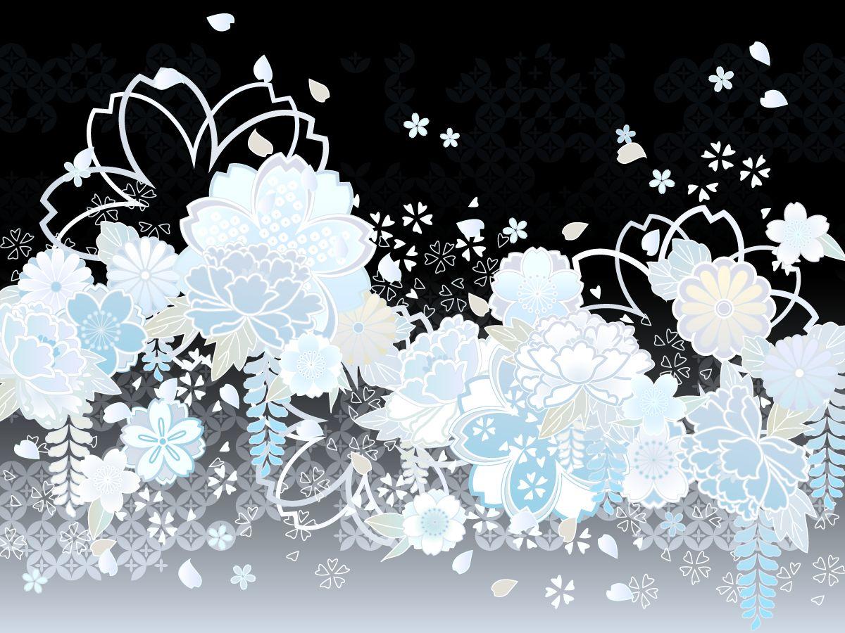 Floral Print Iphone Wallpaper フリー素材 和柄02 背景 4 和柄 Pinterest Japanese Bedroom