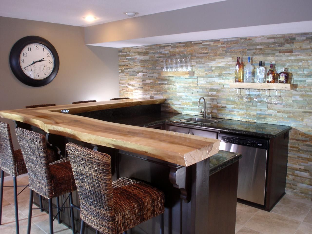 Countertop Bar Designs Basement Bar Ideas And Designs Pictures Options And Tips