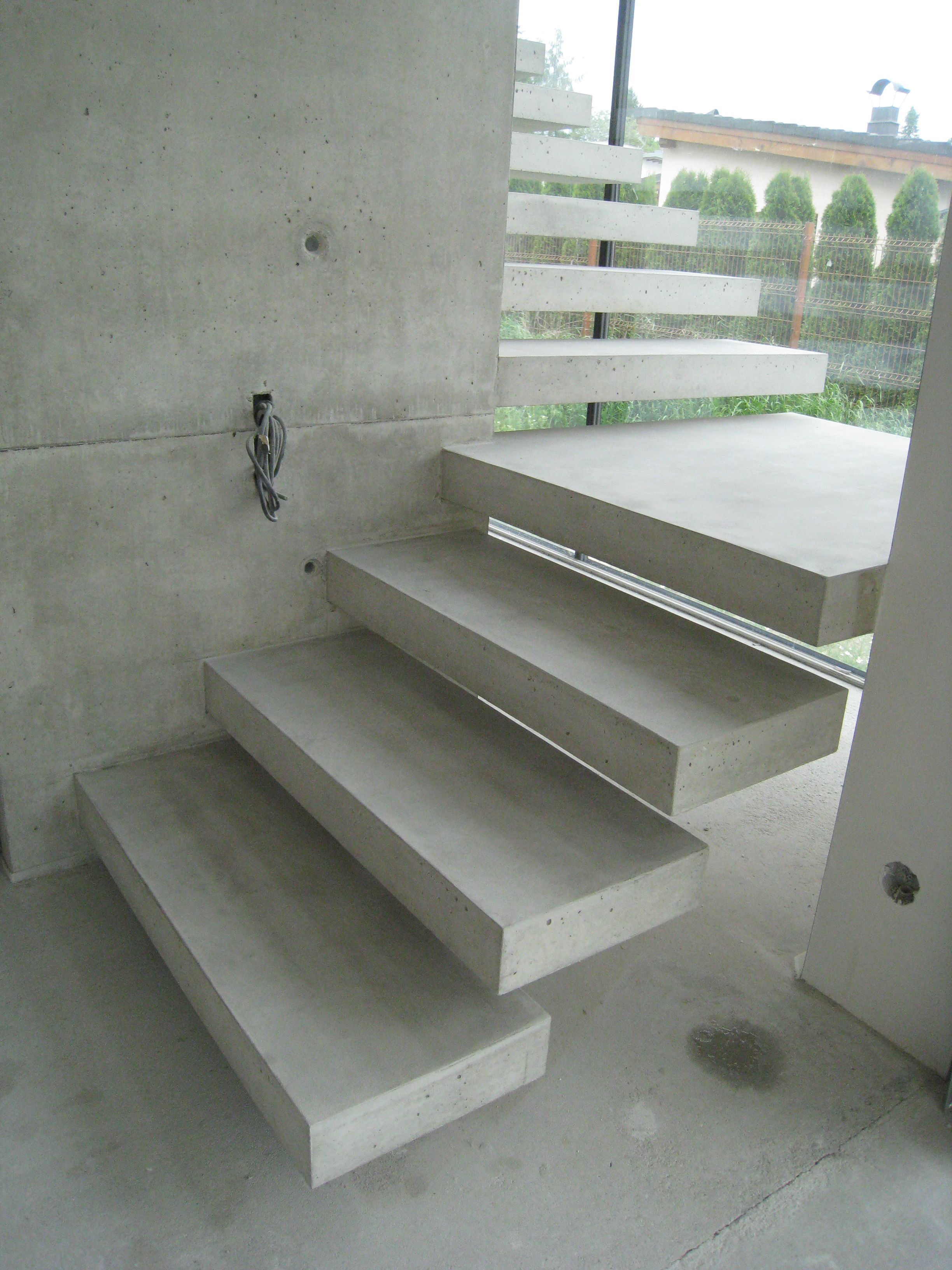 How To Build Floating Stairs Floating Concrete Stairs And Landing Stairs We Love At