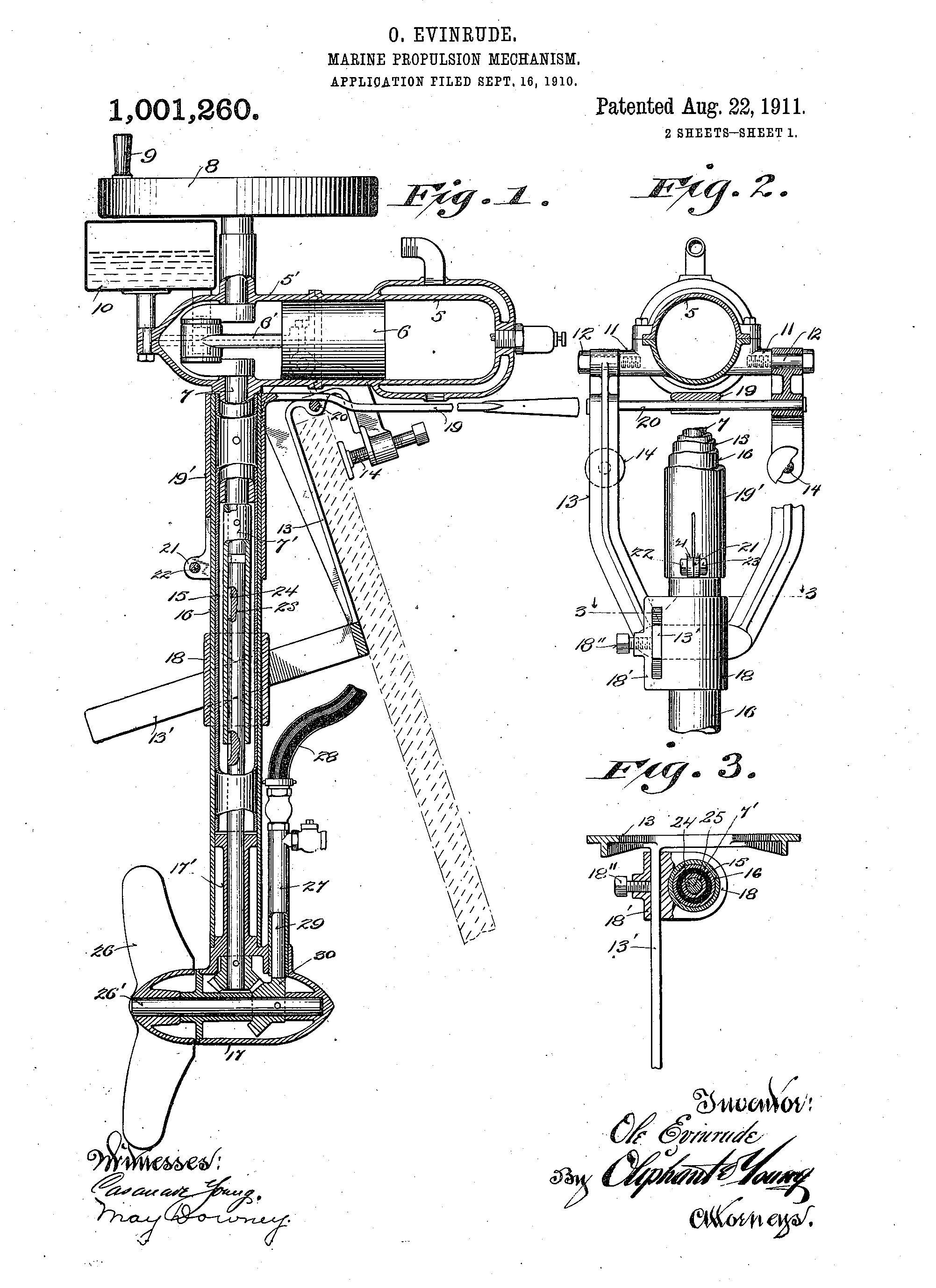 evinrude boat motor wiring diagrams