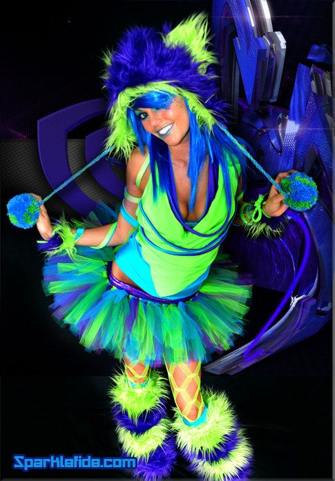 Virtual Rave Costume Work Stuff Pinterest Rave