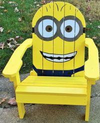 MINIONS Adirondack Chair CHILD SIZE by BCAdirondacks on ...