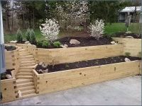 Landscaping Timbers Retaining Wall | Landscaping Timber ...