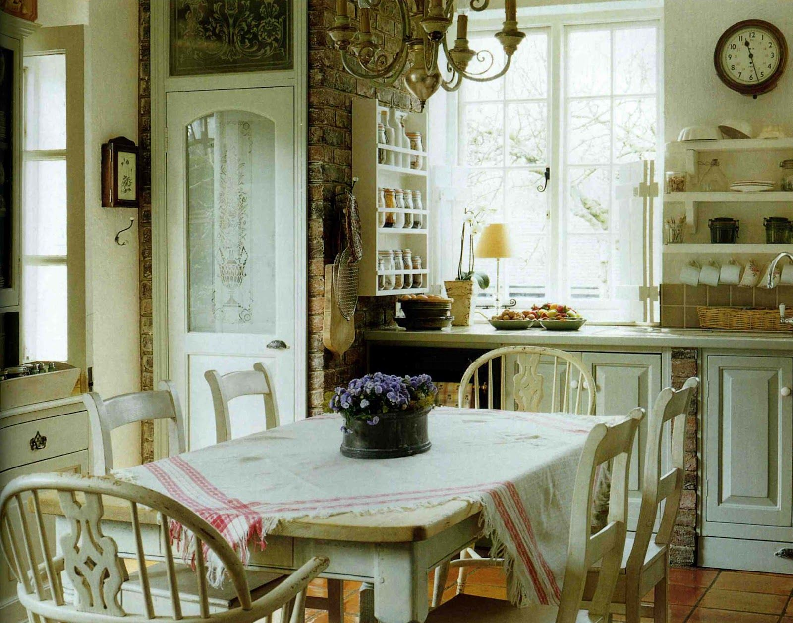 English Farmhouse Interiors English Home Magazine Suspiciously Like The Kitchen In