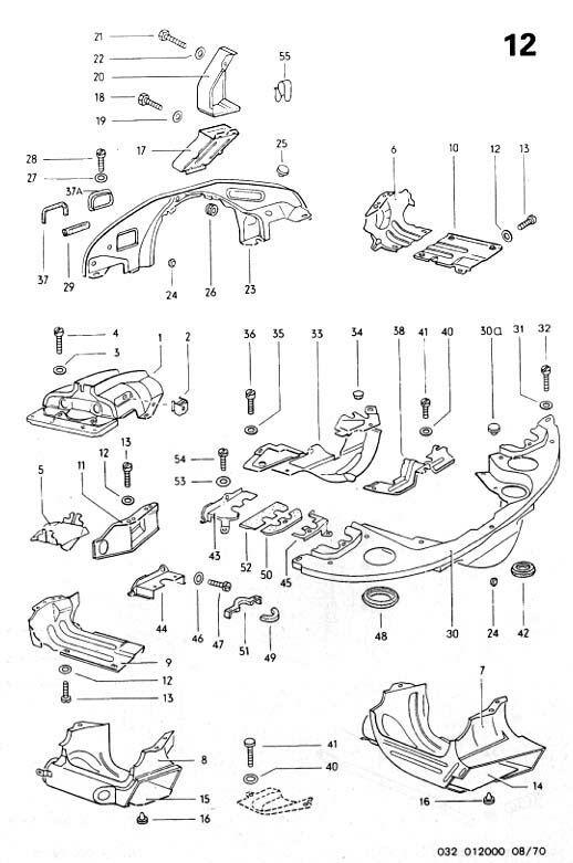 volkswagen engine tin diagram