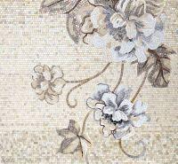 Neutral Floral Mosaic Tile :: Sicis | Mosaic Arts & Tile ...