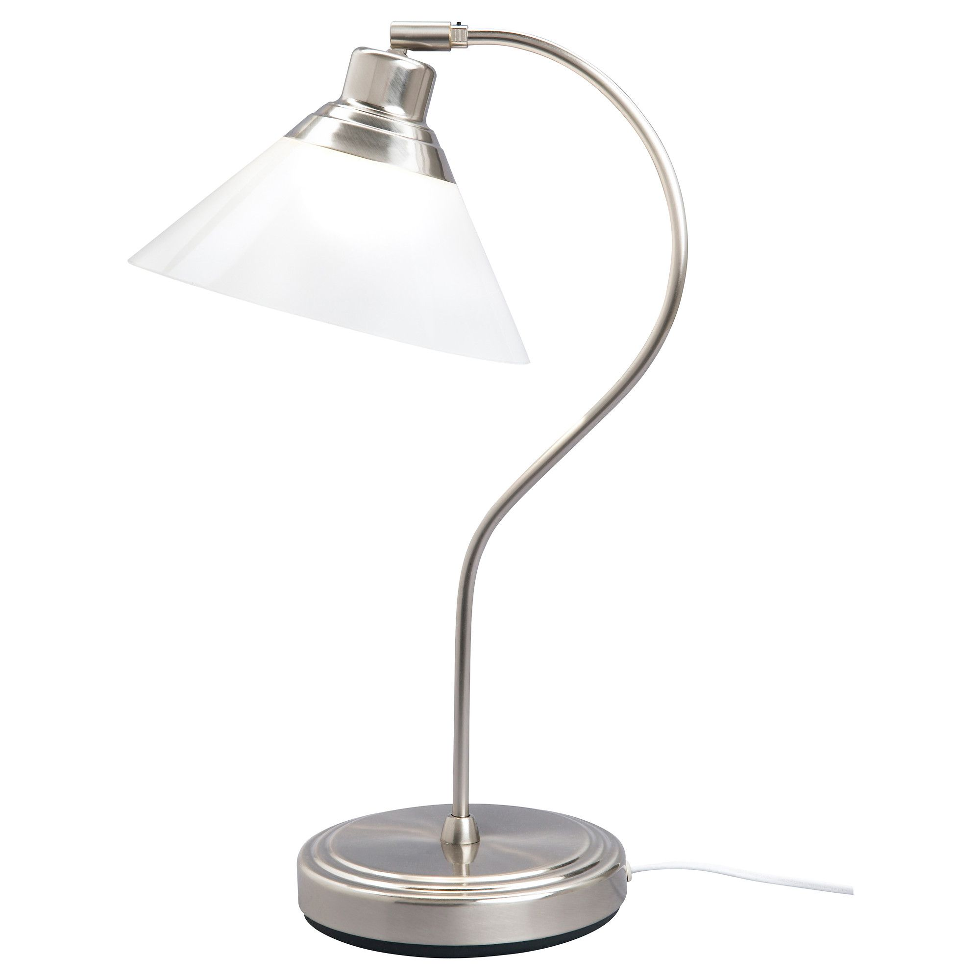 Gros Luminaire Suspendu Kroby Lampe De Table Nickel Verre With Luminaire Suspendu Ikea