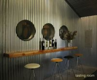 Corrugated Metal for Interior Walls | caldwell tasting ...