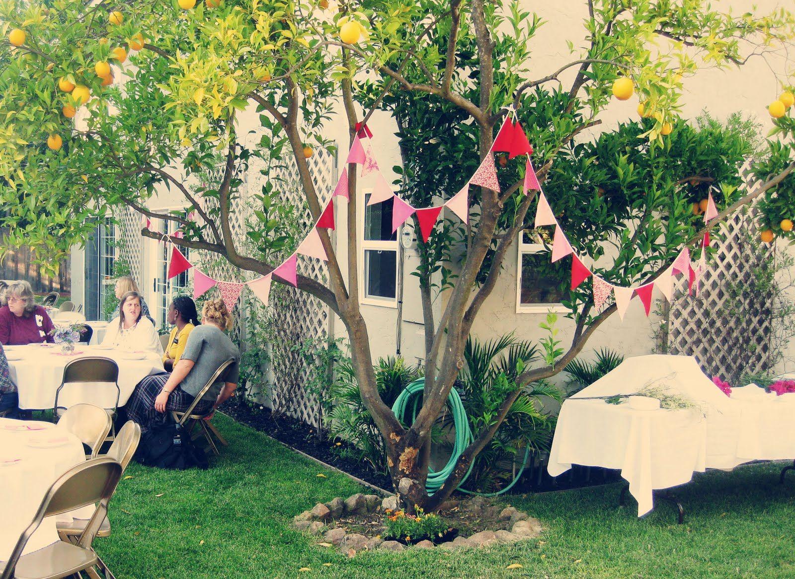 Garden Engagement Party Ideas