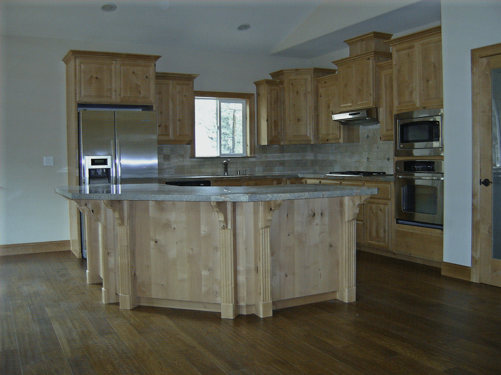 Staining Unfinished Kitchen Cabinets Natural Knotty Alder Wood Kitchen Cabinets Knotty Alder