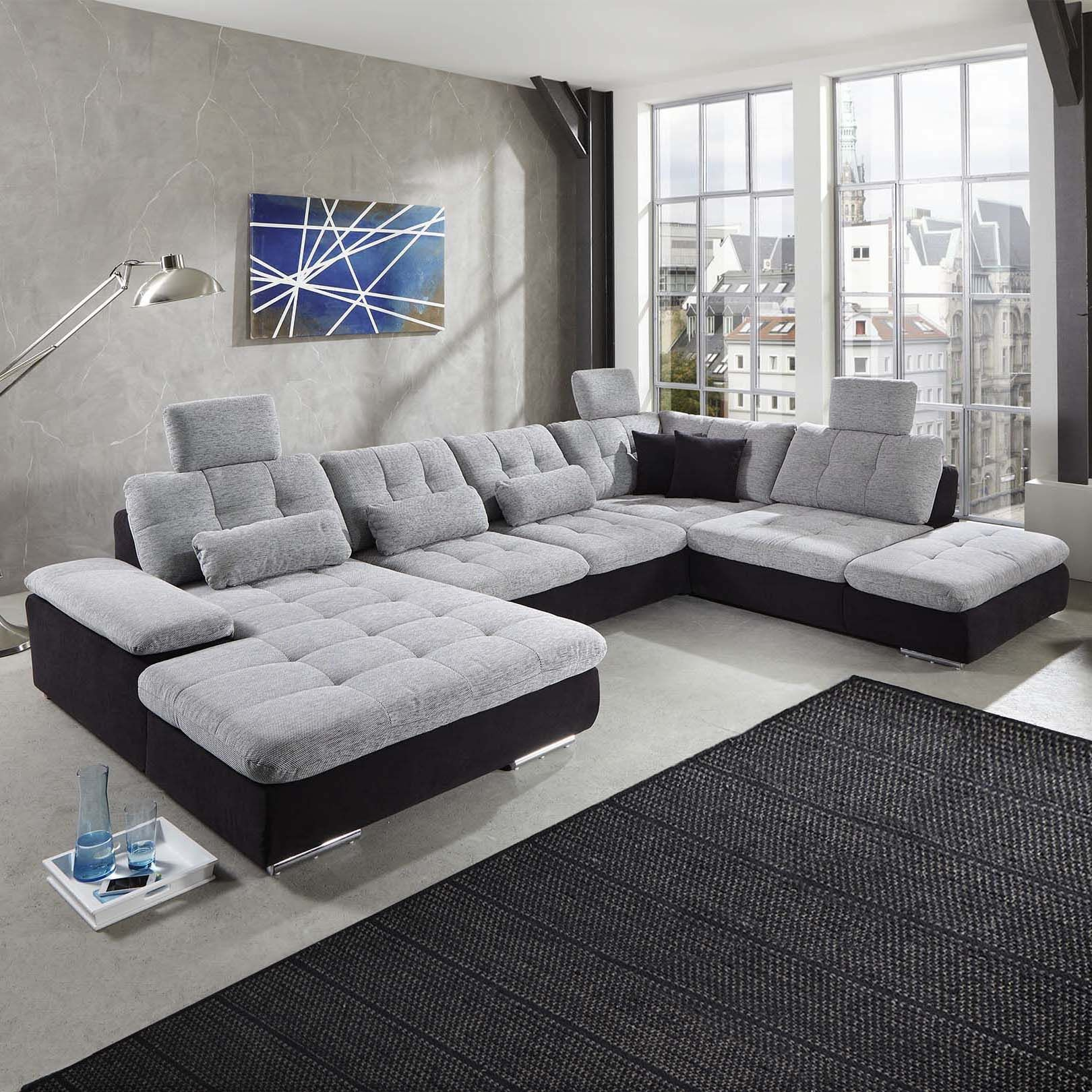 U Form Couch Wohnlandschaft Power Individuell Konfigurierbares Sofa In