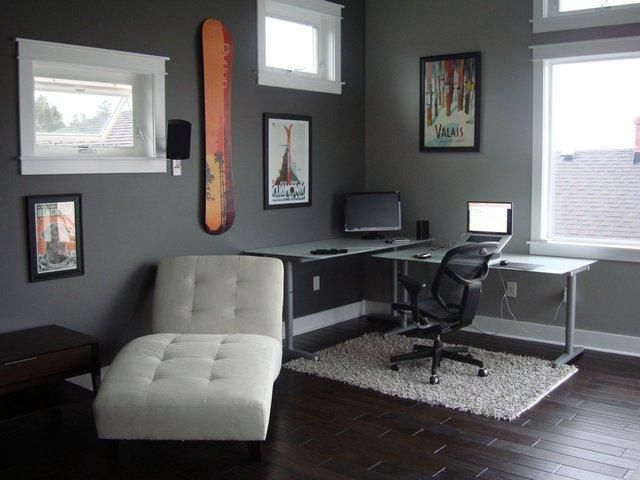 Cool Office Decorating Ideas for Men with True Beauty and Elegance - modern home office ideas