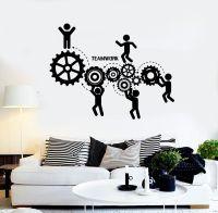 Vinyl Wall Decal Teamwork Office Motivation Worker ...