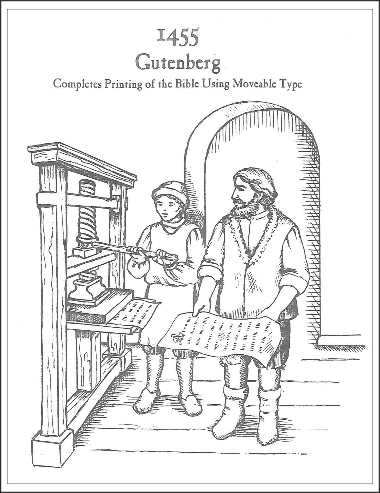 gutenberg printing press diagram as the diagram suggests the