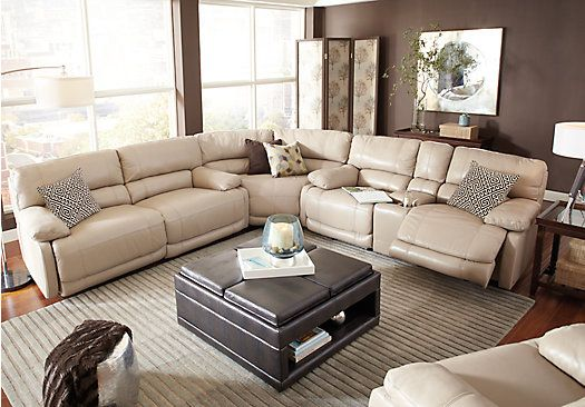 5-pc Power Reclining Sectional Furniture Pinterest - best place to buy living room furniture
