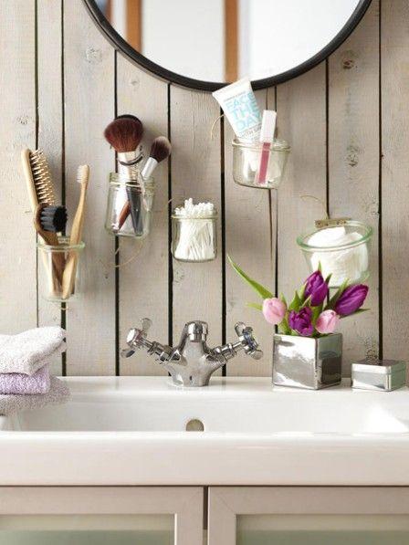 Für kleiner Bäder Badezimmer Aufbewahrung selber machen Wall - badezimmer do it yourself