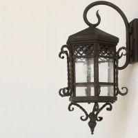 Spanish Revival /Colonial Wall Lantern   Lighting ...