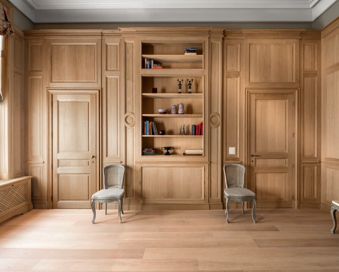Oak Wall Panelling Custom Made French Oak Paneling Lefèvre Interiors